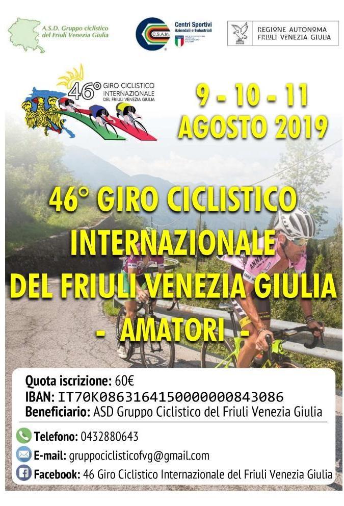 Calendario Internazionale.Csain Calendario 2019 Strada 46 Giro Ciclistico